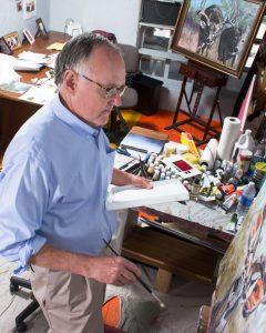 Steve Boster painting